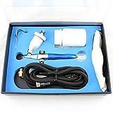 HJLWST Air Eraser Kit Gravity Feed Mini Sandblaster Abrasive Sprayer Spray Gun