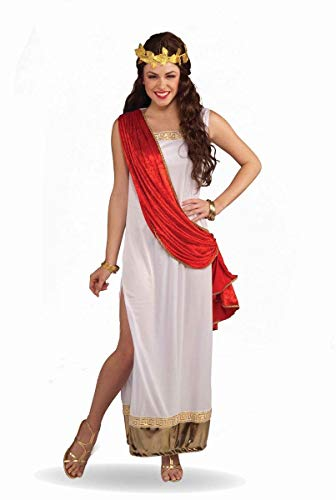 Forum Empress Of Rome Costume, Red/White,