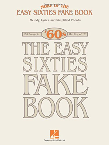 More Of The Easy 60s Fake Book Hal Leonard Corp 9781423419846