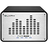 Glyph Studio RAID 4 SRF16000 16TB External Hard Drive RAID 0, 1 or JBOD (7200RPM, USB 3, FW800, eSATA)