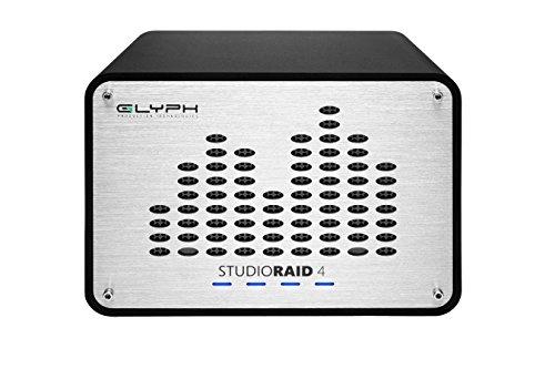 Glyph Studio RAID 4 SRF32000 32TB External Hard Drive RAID 0, 1 or JBOD (7200RPM, USB 3, FW800, eSATA) by Glyph