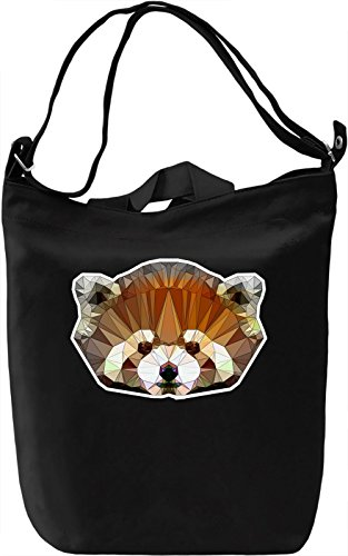 Cute Lesser Panda Borsa Giornaliera Canvas Canvas Day Bag| 100% Premium Cotton Canvas| DTG Printing|