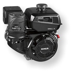Command Pro Horizontal Series Gas Engines: CH3953031 MFG. No., 9.5 HP, Shaft: 1 X 3.49, ELECTRIC START, 304003 by Kohler
