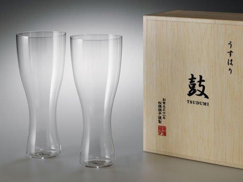 Usuhari beer glass (Pilsner)