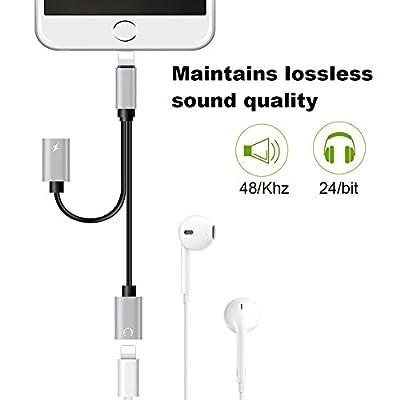 Audio Jack 2in1 for Music Headphone Audio Aux Splitter Accessories