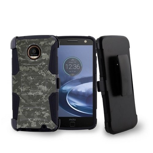 Moto Z Force Droid Edition - Premium Bundle - [Pixel Camo...