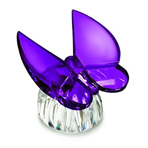 Waterford Butterfly Collection Butterfly Amethyst Collectible