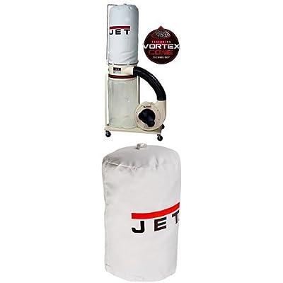 Jet DC-1100VX-5M Dust Collector 1.5HP 1PH 115/230-Volt 5-Micron Bag Filter Kit