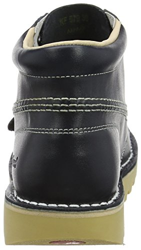 Kick Kids Dk Blue Ankle Kickers Boots Hi White qR5CSwU