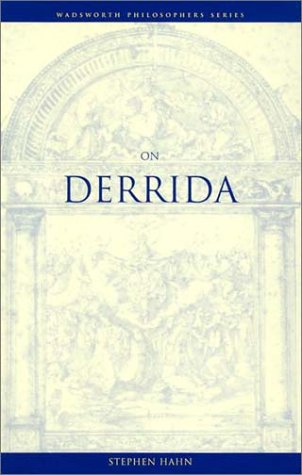 On Derrida (Wadsworth Philosophers Series)