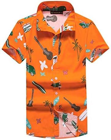 LFNANYI Hombre Camisa Hawaiana de Verano Casual Animal Impreso Manga Corta Masculina Camisas de Playa M-5XL ST55 4XL: Amazon.es: Deportes y aire libre