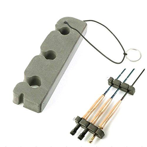 Rod Holders Magnetic (Isafish Fishing Rod Rack Transport Tool Portable Magnetic Rod Support Universal Vehicle Frame Rod Holder)