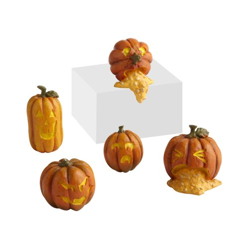 Department 56 Halloween Village Wretched Jack-O-Lanterns, Set of (Halloween Village Sets)