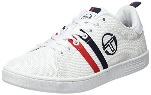 White Navy Bianco Sergio Ghibli Uomo MSH Sneaker Tacchini Red CTgPwHq