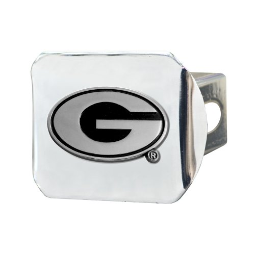 Georgia Bulldogs Trailer Hitch Cover (FANMATS NCAA University of Georgia Bulldogs Chrome Hitch Cover)