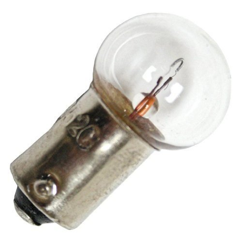 Eiko - 55 Mini Indicator Lamp - 7 Volt - 0.41 Amp - G4.5 Bulb - Miniature Bayonet Base - 10 Pack ()