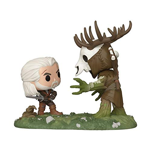 Funko Pop! The Witcher III Wild Hunt Geralt Vs Leshen Insider Club Exclusive Game Moment