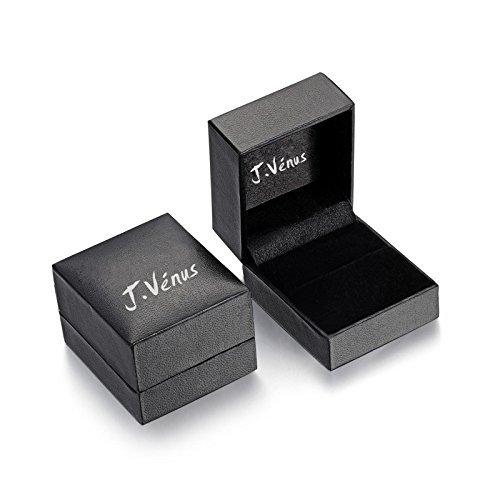 J.Vénus Damen Schmuck, 925 Sterling Silver Bling Damen Armband, handgefertigt, einstellbar, stilvoll und schön, Schmuck mit Etui