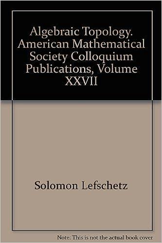 Ebook téléchargement gratuit cz Algebraic Topology. American Mathematical Society Colloquium Publications, Volume XXVII (French Edition) PDF