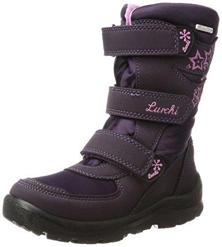 Lurchi Mädchen Koby-Sympatex Schneestiefel Violett (Aubergine)