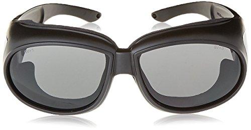 Global Vision Outfitter Motorcycle Glasses (Black Frame/Smoke Lens)