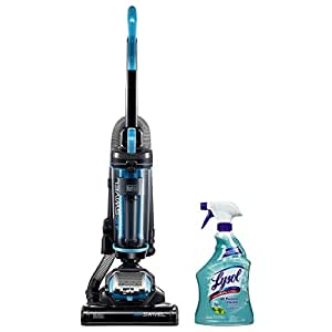 Black and Decker Air Swivel Lite Sweeper Ultralight Upright Vacuum Cleaner with Lysol All Purpose Cleaner, 32 Ounce