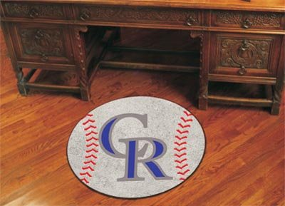 Mlb Rug - MLB - Colorado Rockies Baseball Rug