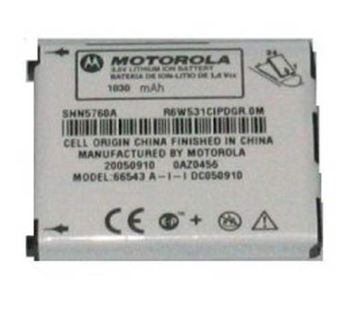 (Standard GENERIC Li-Ion Battery For MOTOROLA SNN5695A , SNN5760A  E815 E816 V710 A860 A840 phone models.)