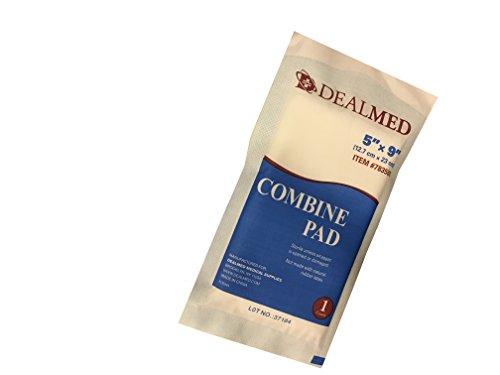 Dealmed Sterile Combine Abdominal ABD Pads 5 X 9 20 Per Pack