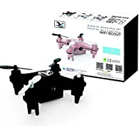 Cewaal Mini 668-A5W 2.4GHz 6-Axis Gyro Nano Quadcopter Drone With 2.0MP Camera Remote Control