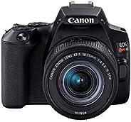 """Câmera Canon SL3 DSLR com 24.1MP, 3"""", Gravação em Full HD - EF-S 18"""
