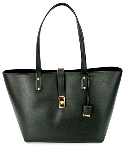 Michael Kors Karson LG Carryall Tote Leather Black (35T8GKRT3L)