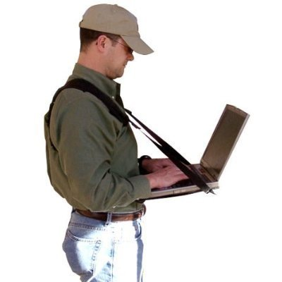 Connect-A-Desk: Mobile Laptop Harness & Desk