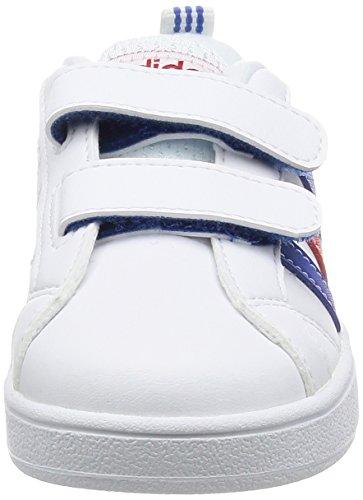 Adidas VS Advantage CMF INF–Chaussures deportivaspara enfants, Blanc–(Ftwbla/bleu/escarl), -26