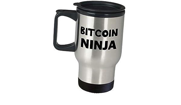 Amazon com: Travel Mug Gifts for Bitcoin Ninja Investor