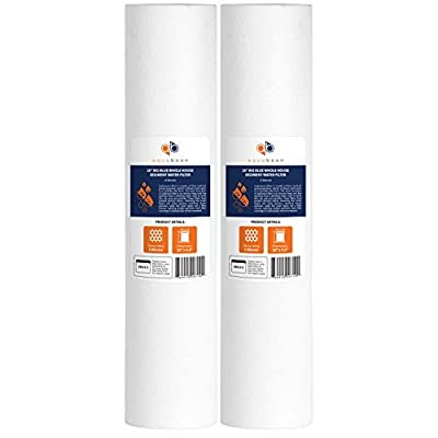 """Aquaboon 5 Micron 20"""" Big Blue Sediment Water Filter Replacement Cartridge 