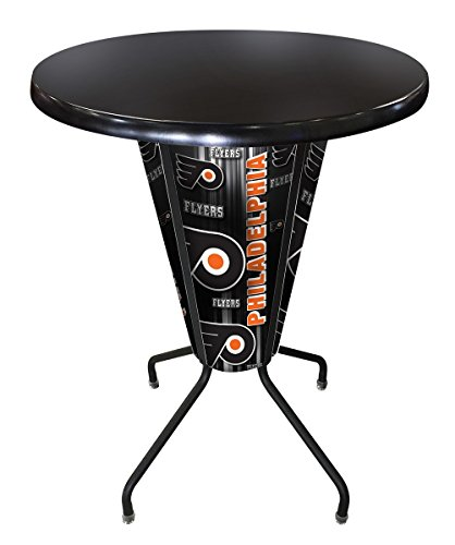 - Holland Bar Stool Co. Outdoor/Indoor LED Lighted Philadelphia Flyers Pub Table