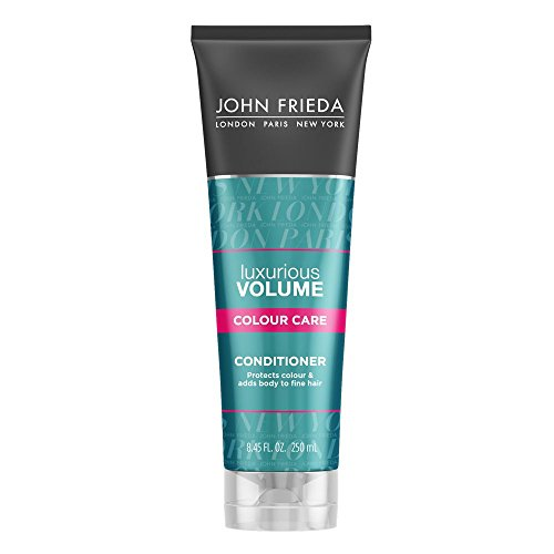 John Frieda Luxurious Volume Colour Care Conditioner for Fine Hair, 8.45 Ounces
