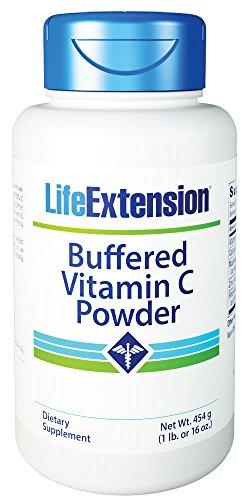 Life Extension Buffered Vitamin C Powder, 454 Grams