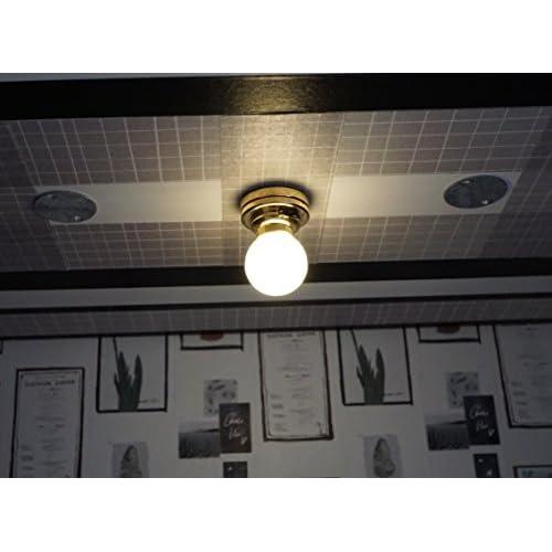 De Plafonnier Led Pour Lampe En Poupée 112 Maison Miniature Base kwOiXPuZT