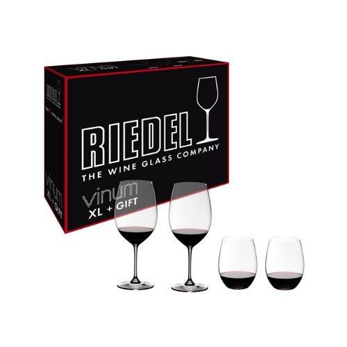 (Riedel 541652 Vinum XL 4 Piece Cabernet Viogner Glass Set)
