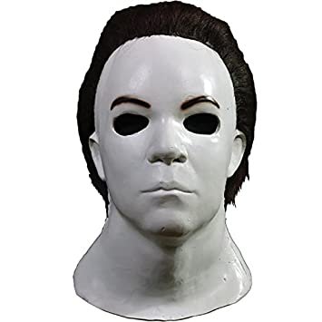 Máscara de Michael Myers Halloween H20: Amazon.es: Juguetes ...