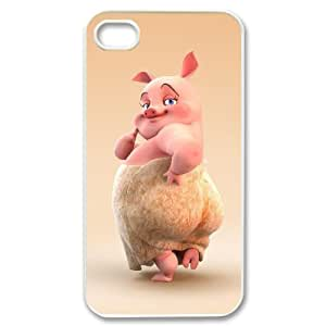 diy zhengPersonalized Cover Case with Hard Shell Protection for iPhone 6 Plus Case 5.5 Inch /, case with Cute cartoon pig lxa#975937