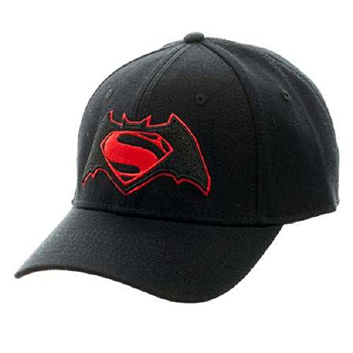 DC Comics Batman vs. Superman Dawn of Justice Logo Flex Fit Hat