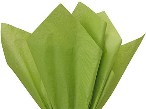 Oasis Green Tissue Paper 15x20