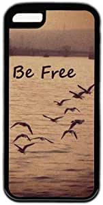 Vintage Retro Be Free Birds Theme Iphone 5C Case