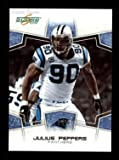 2008 Score # 45 Julius Peppers Carolina Panthers (Football Card) Dean's Cards 8 - NM/MT Panthers