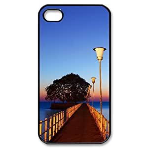 Charming scenery Brand New Cover Case with Hard Shell Protection for Iphone 4,4S Case lxa#225274