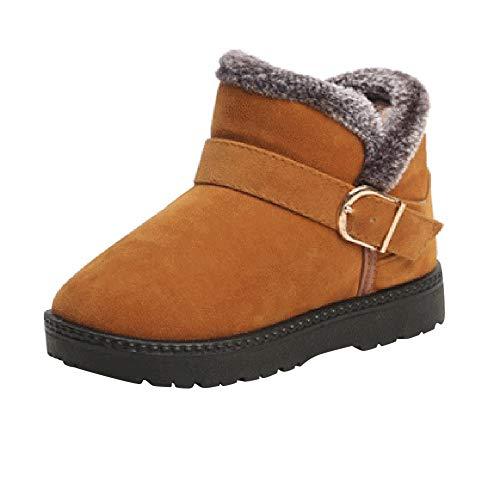 Shoes Kids Autumn Winter Warm Fashion Children Martin Girls Boys Students Snow Boots