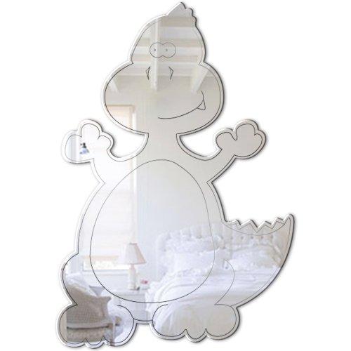 Mungai Mirrors 0302 Baby T-Rex Acrylic Mirror by Mungai Mirrors